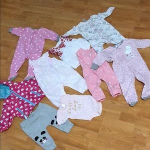 9pc baby girl 👧 bundle